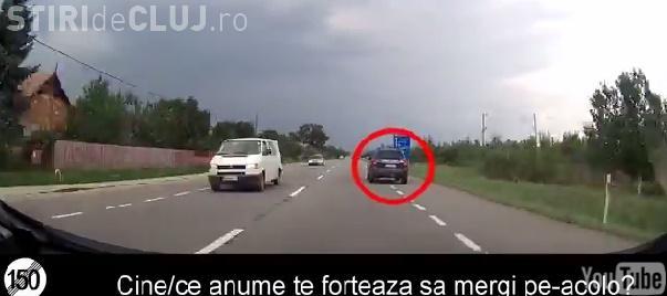 Dumul de la Cluj la Dej, plin de șoferi iresponsabili? Momentele surprinse de un participant la trafic VIDEO