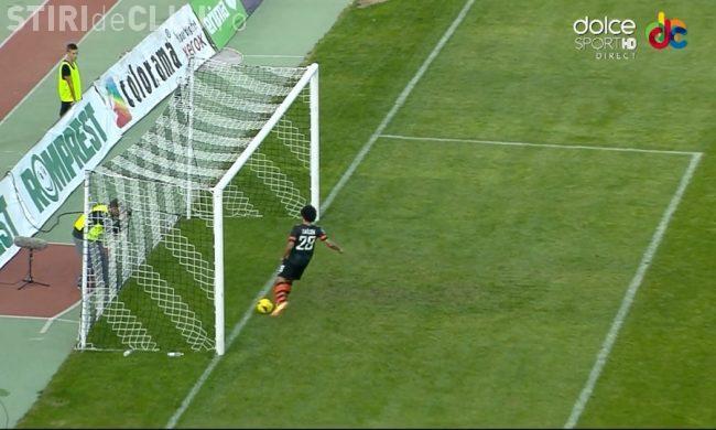 U Cluj - Şahtior Doneţk - 0-2. REZUMAT VIDEO - Trupa lui Lucescu a dominat meciul