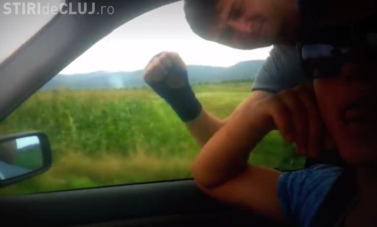 Superman de Cluj! Clipul unor tineri cu prea multă imaginație - VIDEO