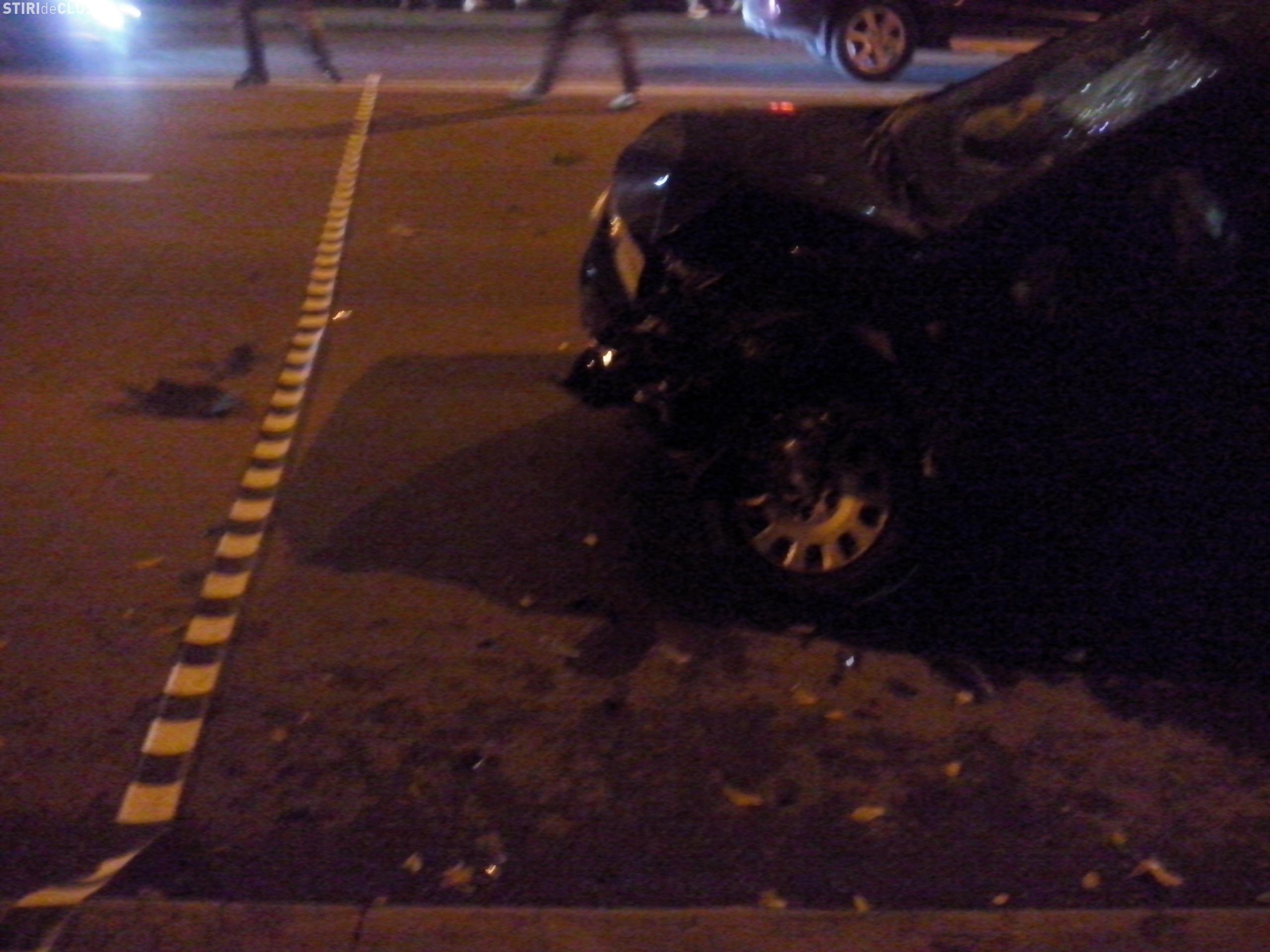 Accident lângă Iulius Mall Cluj! O femeie a fost lovită pe trecerea de pietoni