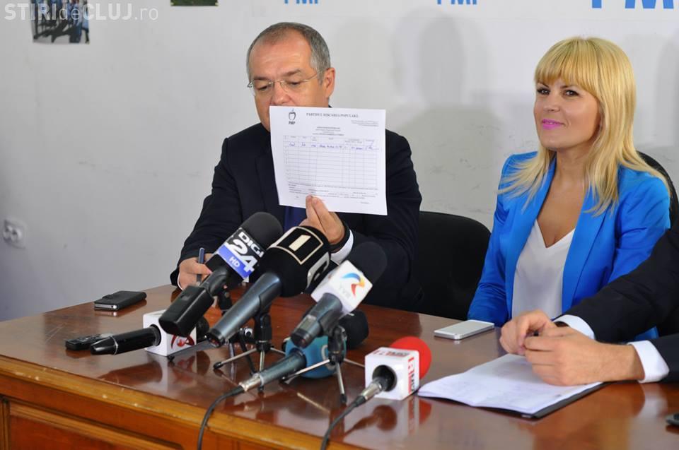 Boc a semnat lista susţinere a candidaturii Elenei Udrea la Preşedinţie