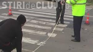Accident grav în Huedin! Un șofer de 70 de ani a lovit o fată de 13 ani pe trecerea de pietoni
