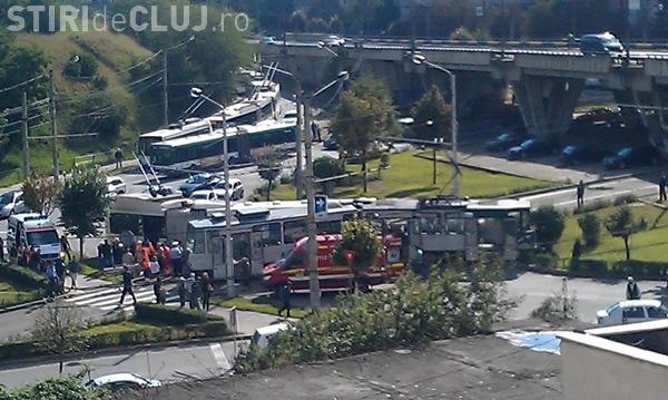 Șeful CTP Cluj nu își explică accidentul de la Podul Calvaria!