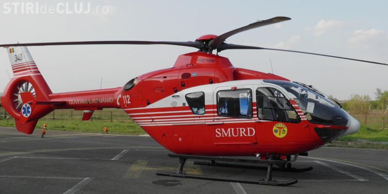 Elicopterul SMURD pentru Regiunea Nord-Vest nu va fi la Cluj