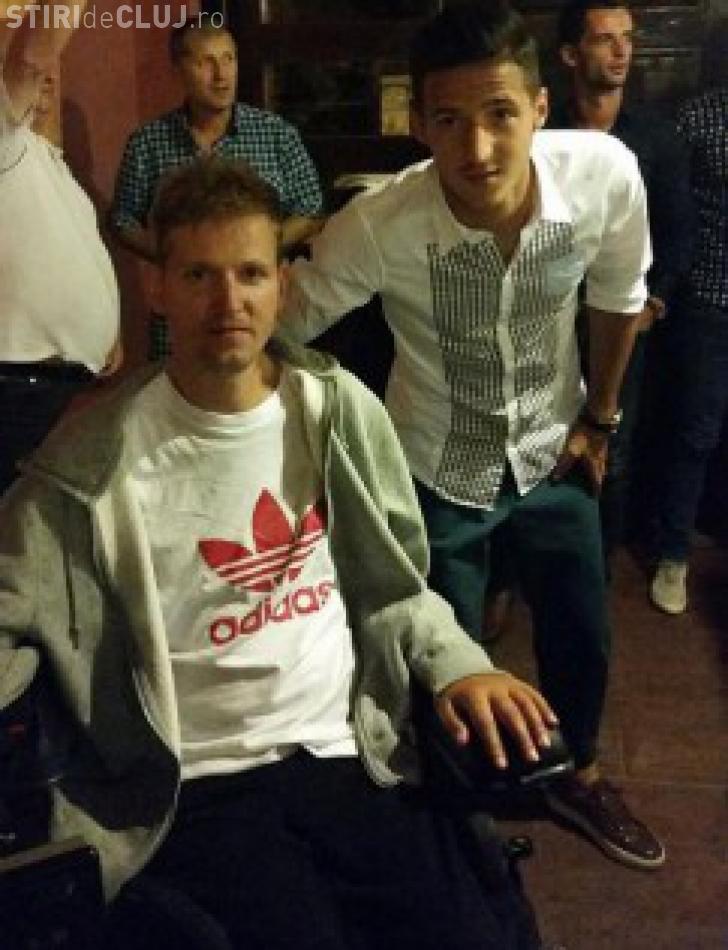 """Mihai Neșu a fost pe Cluj Arena și s-a întâlnit cu """"familia"""" Universitatea Cluj - FOTO"""