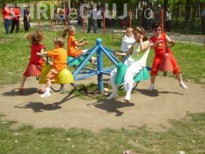 Parc de joacă și agrement inaugurat în Florești. Urmează să se construiască alte două parcuri