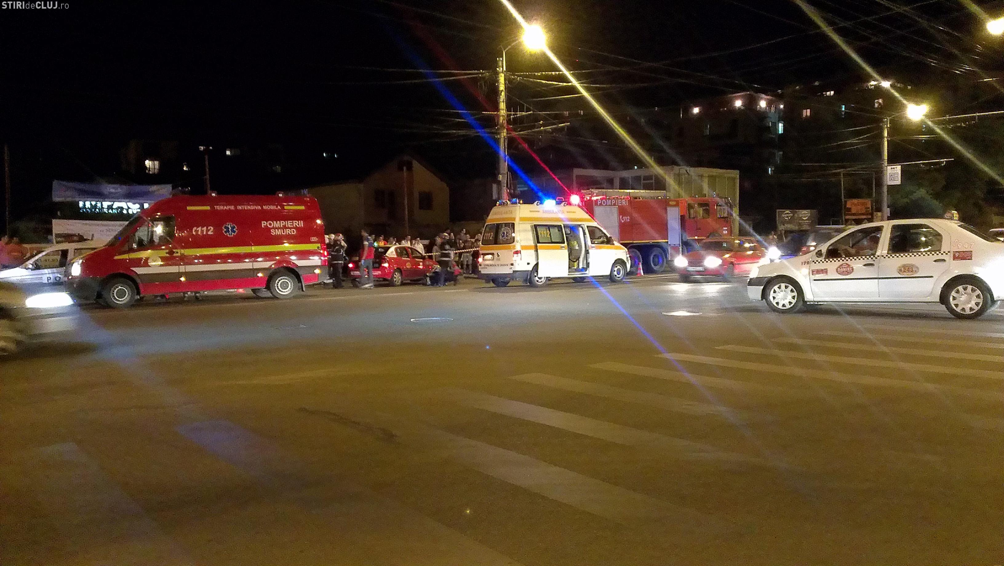 Accident în apropiere Iulius Mall! Motociclist lovit de un șofer