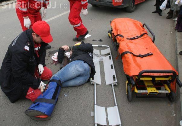Accident pe Constantin Brâncuși! O minoră a fost lovită de o șoferiță