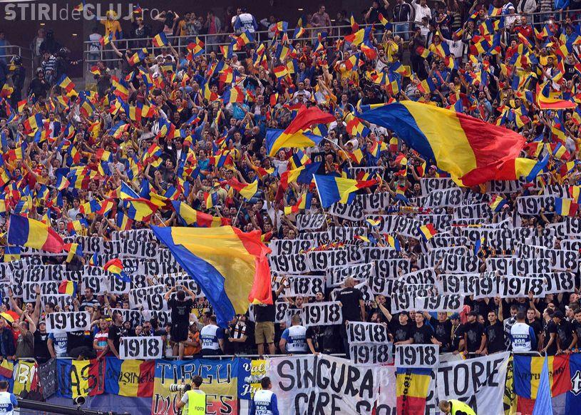 Sute de suporteri ai U Cluj merg la meciul România - Ungaria. Suporteri din 11 galerii au cumpărat bilete