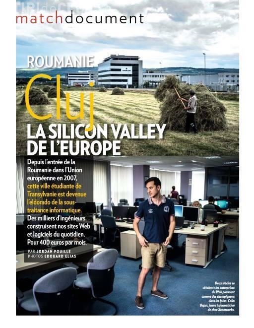 """Clujul este lăudat de Paris Match. E """"Sillicon Valley-ul Europei"""" - FOTO"""