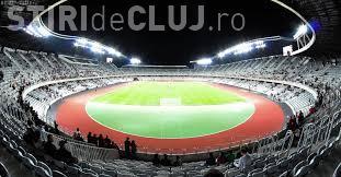 Meci de fotbal pe Cluj Arena între naționala României și naționala Danemarcei