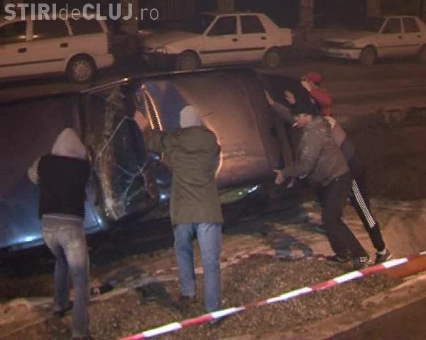 Accident grav pe Bulevardul Muncii! Un șofer a intrat pe contrasens