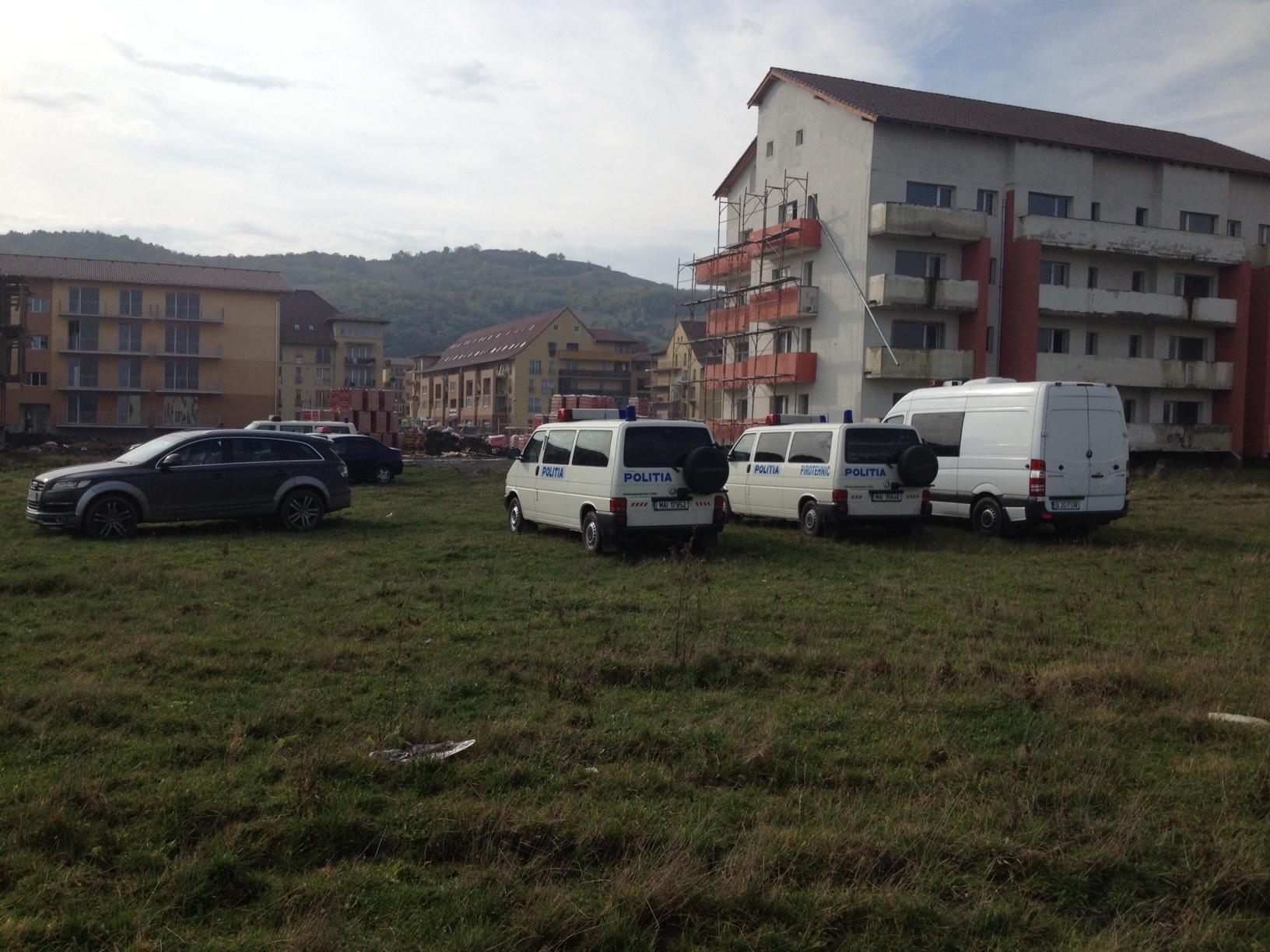 Mascații au descins în Florești, pe strada Porii, în zona Multiserv - FOTO și VIDEO