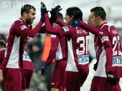 """CFR Cluj, echipa """"integraliștilor"""". Au cei mai mulți fotbaliști care au jucat toate minutele din acest sezon"""