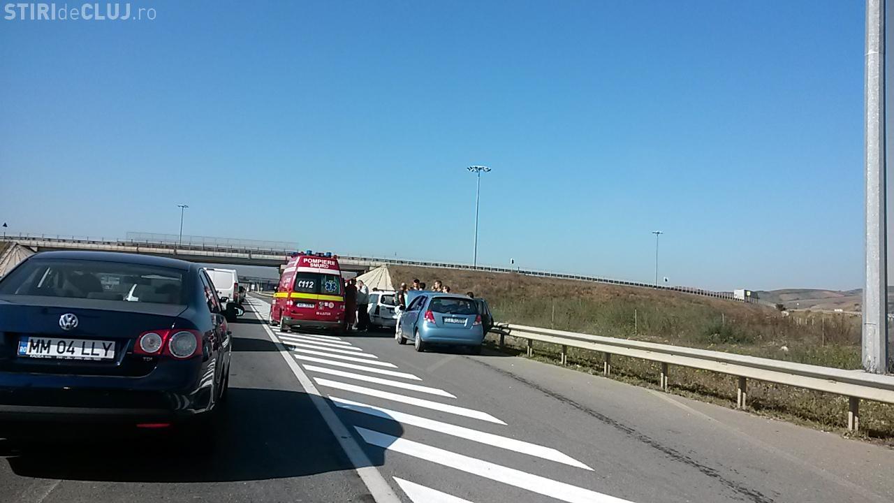 Două accidente în două ore între Florești și Gilău, cauzate de șoferi neatenți. Trei persoane au fost rănite FOTO