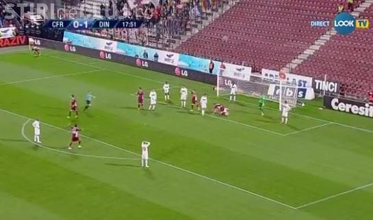 CFR Cluj - Dinamo 2-1 REZUMAT VIDEO - Clujenii joacă fotbal și fără salarii