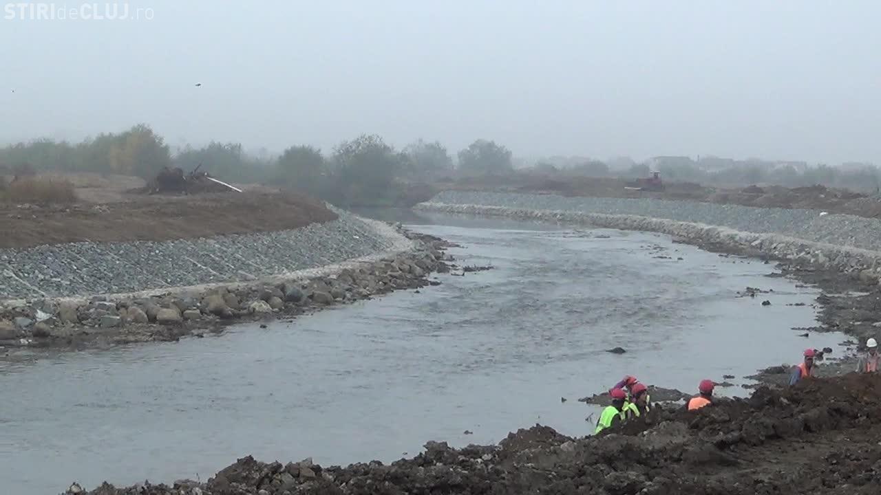 Someșul navigabil la Cluj! Albia râului va avea o lățime de minim 42 de metri - VIDEO