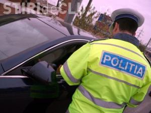 Floreștean prins la volan fără permis, după ce a lovit un alt autoturism