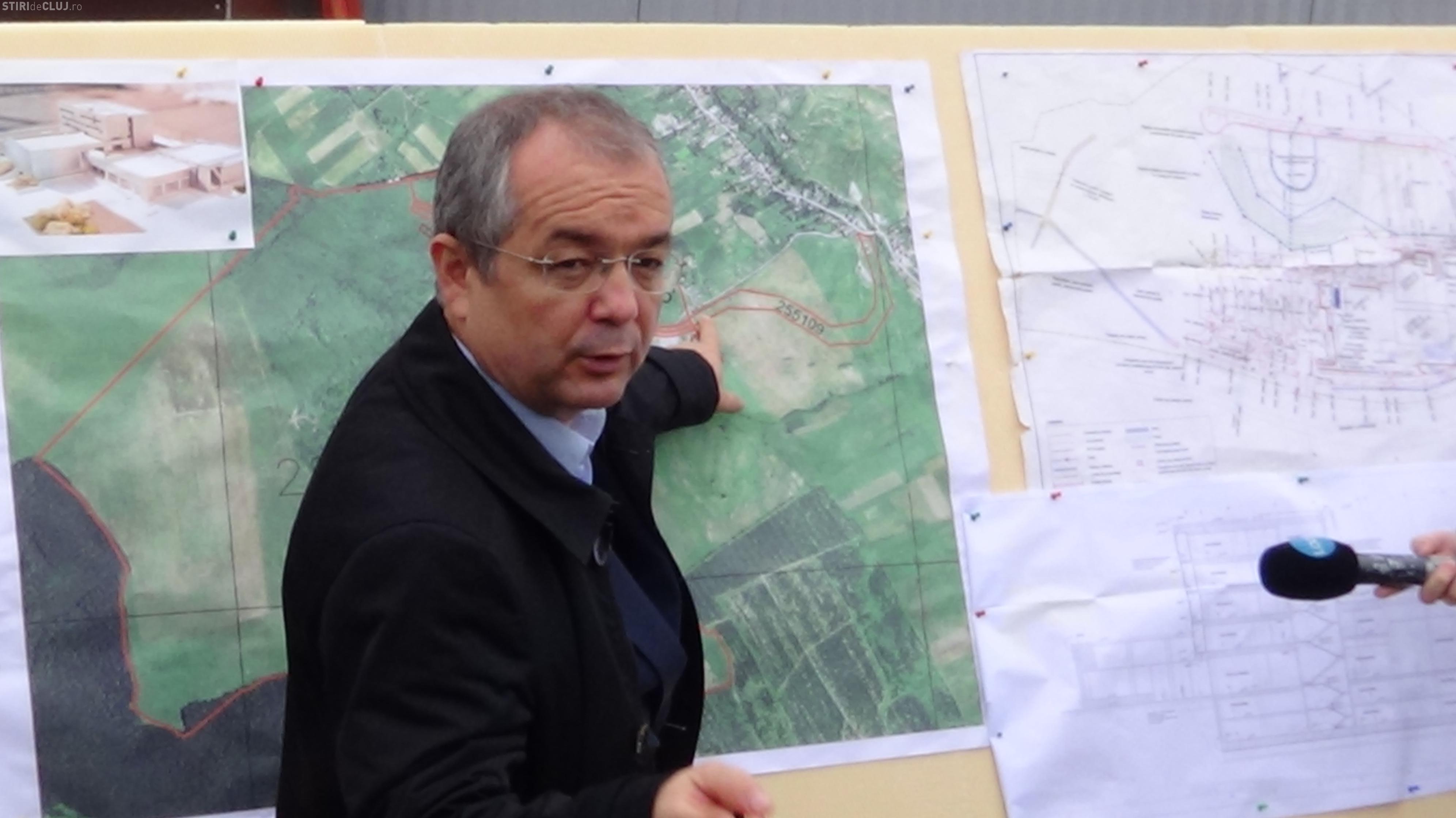 Zona Lomb - locul unde va crește noul Cluj. Boc: Vorbim de 100.000 de locuitori și 20.000 de locuri de muncă - VIDEO
