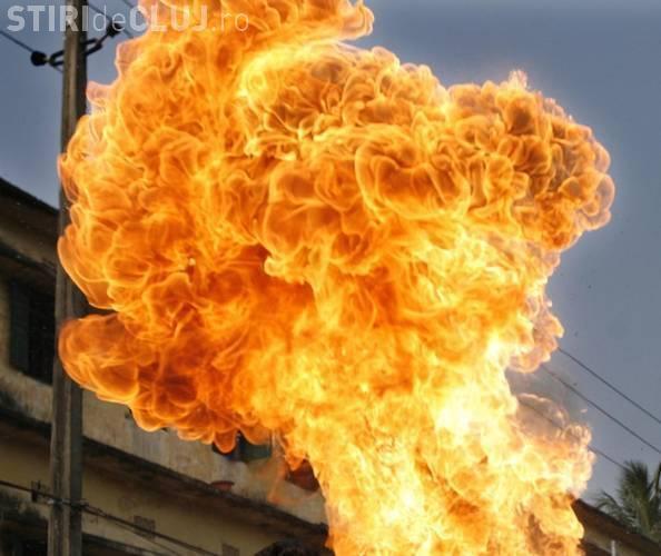Explozie și incendiu la o fabrică din Gherla. Angajații au fost trimiși acasă