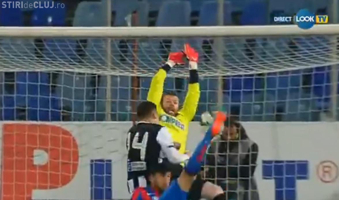 Steaua - U Cluj 4-1 REZUMAT VIDEO - Ogăraru, îngenuncheat în Ghencea