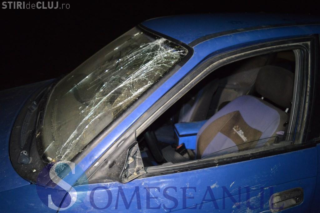 Un clujean s-a răsturnat cu mașina lângă castelul Banffy. Era beat și nici nu avea permis VIDEO