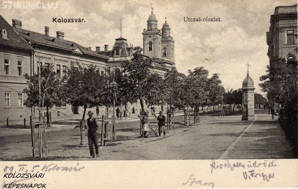 """Clujul în 1909: """"Existau pe strazi cismele si oameni care curatau"""" - FOTO"""