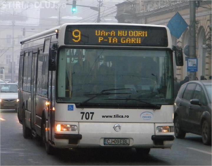 CTP Cluj suplimentează numărul de autobuze din Cluj-Napoca