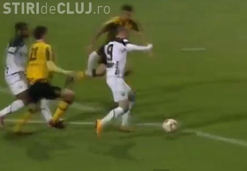 """""""U"""" Cluj s-a calificat în sferturile Cupei României după ce a învins FC Brașov cu 3-1 REZUMAT VIDEO"""