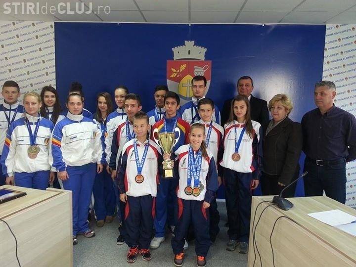 Primarul Horia Șulea i-a premiat pe sportivii de la Hayashi Activ