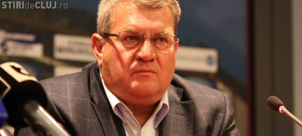 Iuliu Muresan își dă DEMISIA de la CFR Cluj