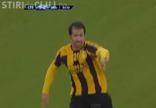 Înfrângere dureroasă pentru CFR Cluj. Au fost bătuți de FC Brașov chiar la ei acasă REZUMAT VIDEO