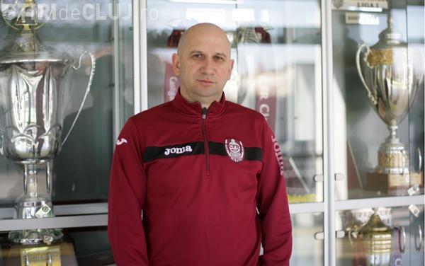 Vasile Miriuță atacă dur conducerea CFR Cluj și amenință cu demisia. Jucătorii vor să intre în grevă