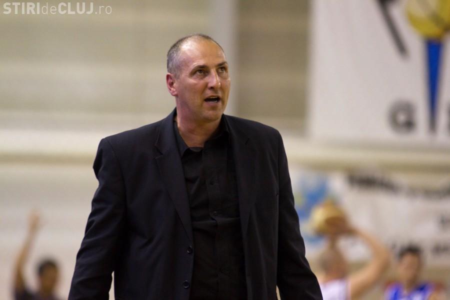 Marcel Țenter pus antrenor la U Banca Transilvania