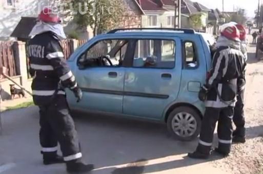 Accident cu trei victime la Uriu. Un șofer de 82 de ani a cauzat accidentul