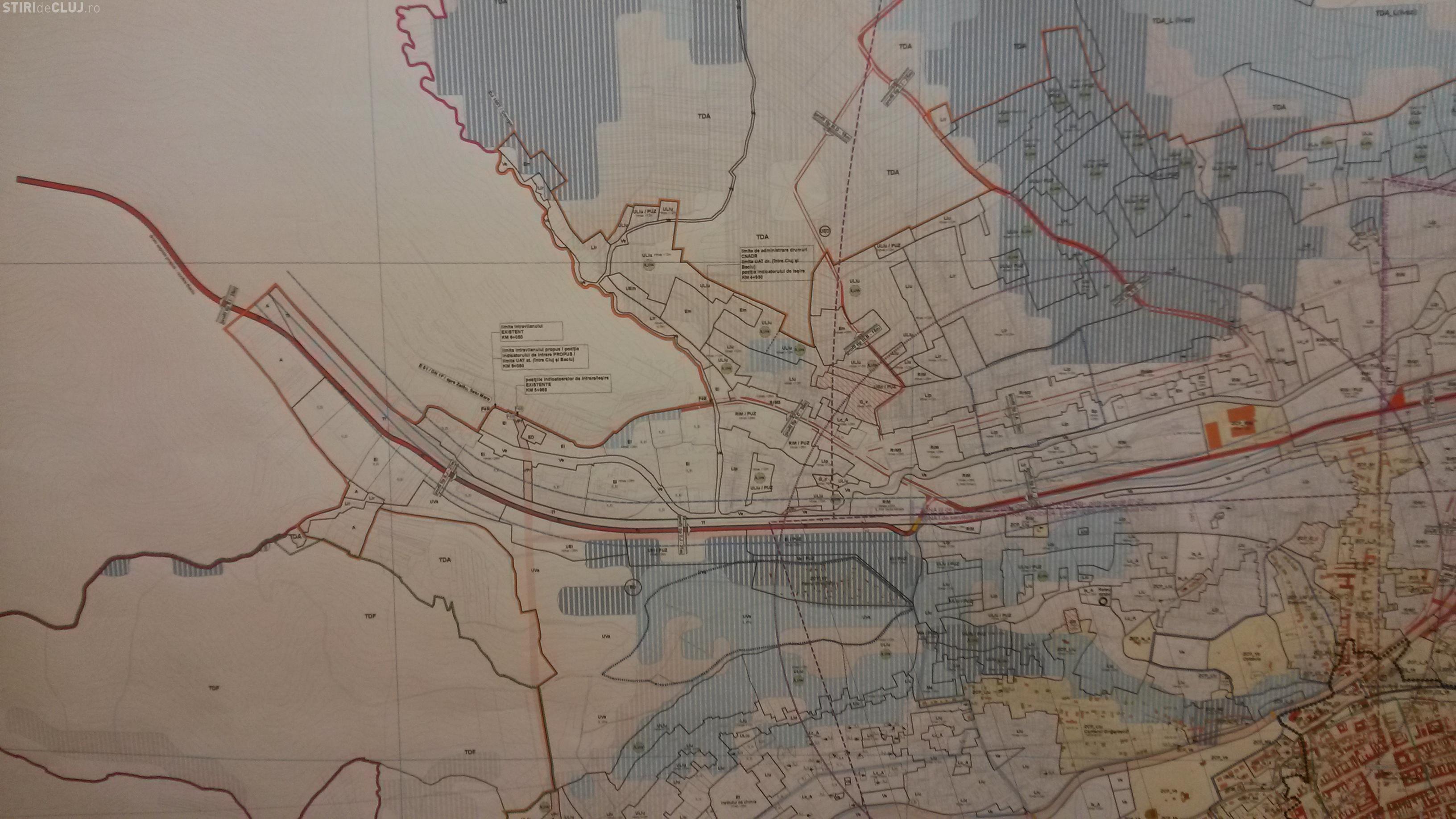 Comuna Baciu va avea o centură de la Autostrada Transilvania până în Apahida - FOTO