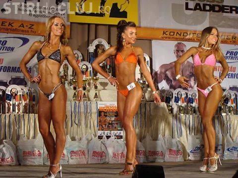 Povestea campioanei naționale de bikini fitness! E o clujeancă ambițioasă, care a trecut peste toate problemele