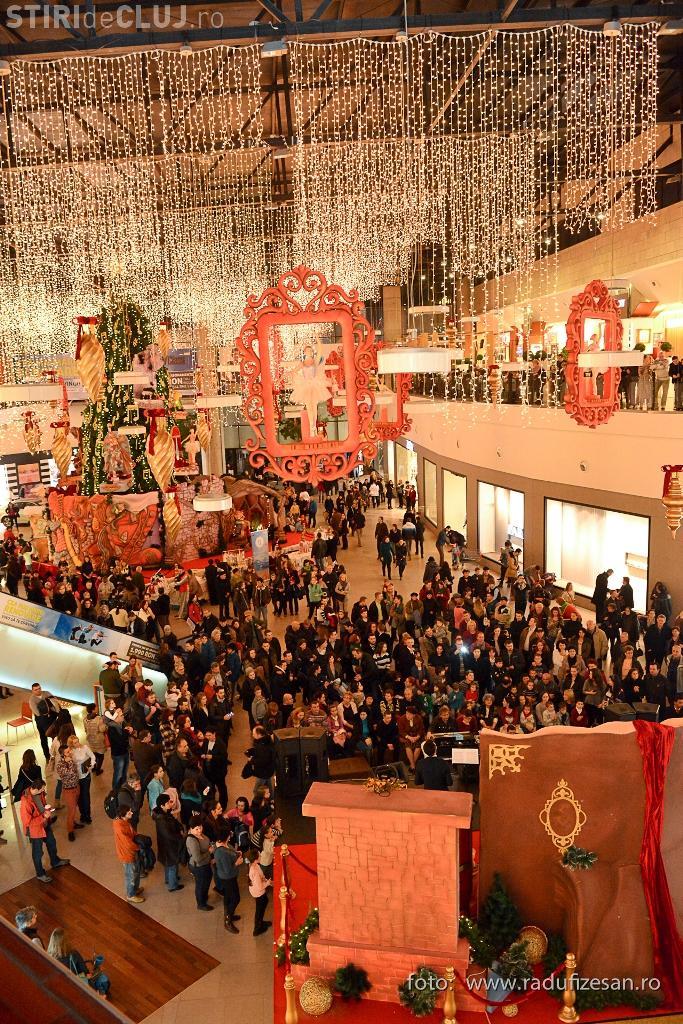 Târg de cadouri și spectacol muzical, de Moș Nicolae, la Iulius Mall