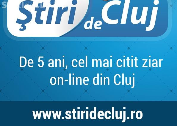 Știri de Cluj împlinește astăzi 5 ani. Vă mulțumim că ne urmăriți in fiecare zi!