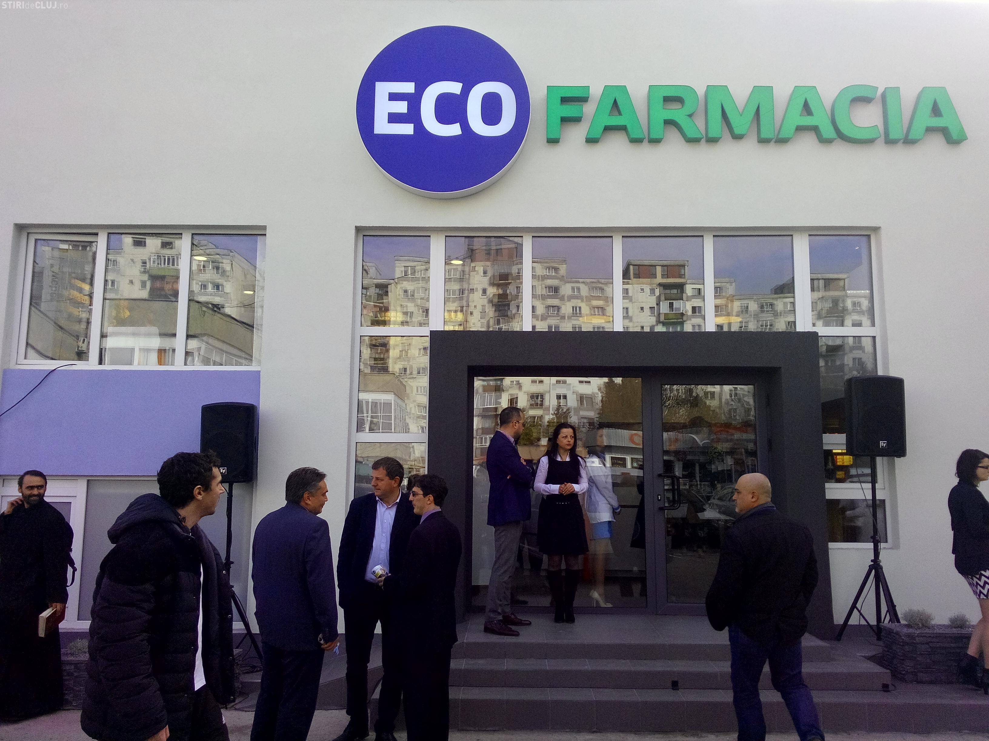 ECOFARMACIA are o nouă locație în Cluj-Napoca, în piața Flora. Vezi cum arată FOTO (P)
