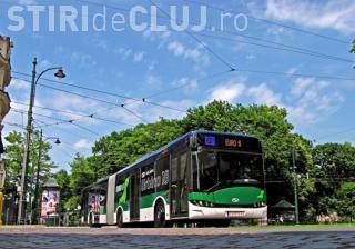 Toate autobuzele noi ajung la Cluj până la finele anului