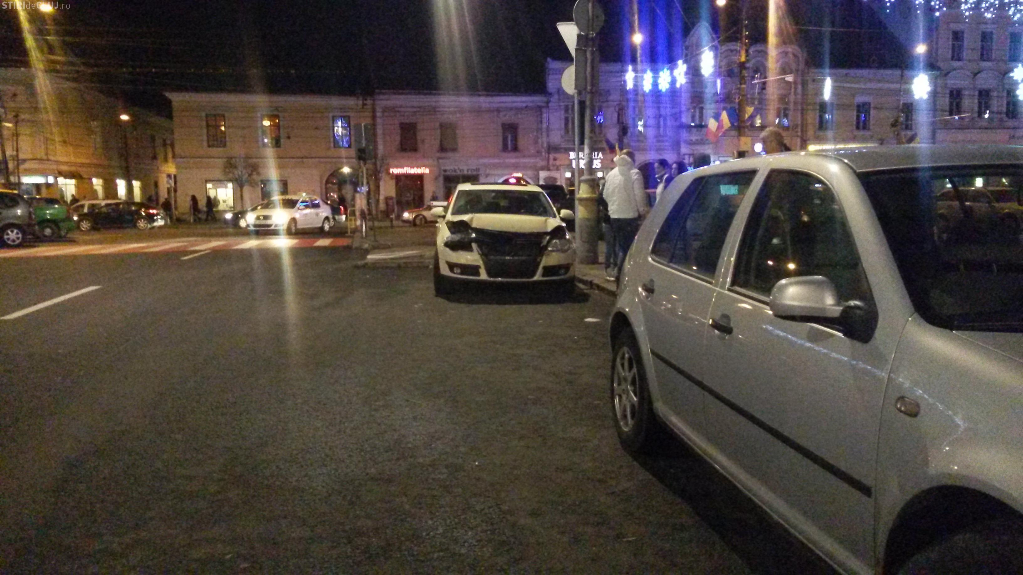 Accident în față Berăriei Ursus! Patru mașini avariate de un șofer beat! Un alt Audi a fost acroșat ulterior - FOTO