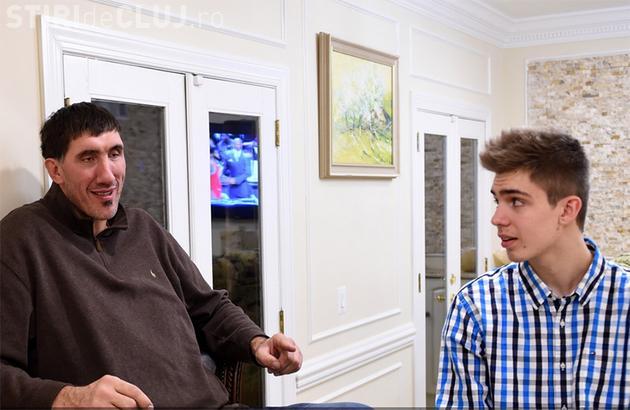 """Fiul lui """"Big Ghiţă"""" joacă baschet la o echipă universitară. Washington Post i-a dedicat un articol amplu - FOTO"""