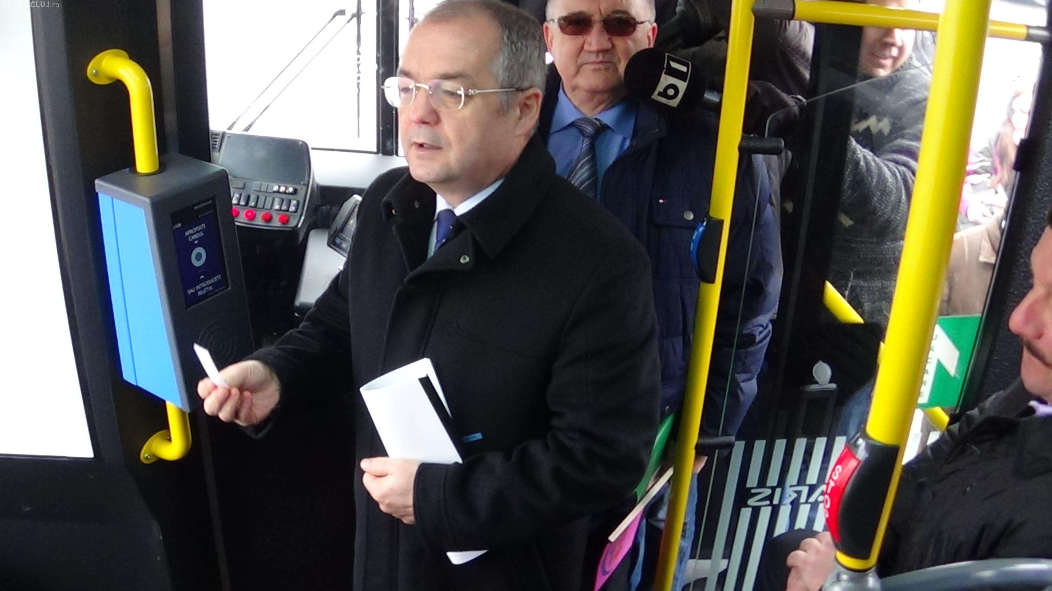 Boc: În 2015 vom cumpăra și troleibuze noi - VIDEO