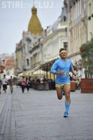 Un maratonist aleargă de la Cluj la Timișoara în memoria victimelor Revoluţiei