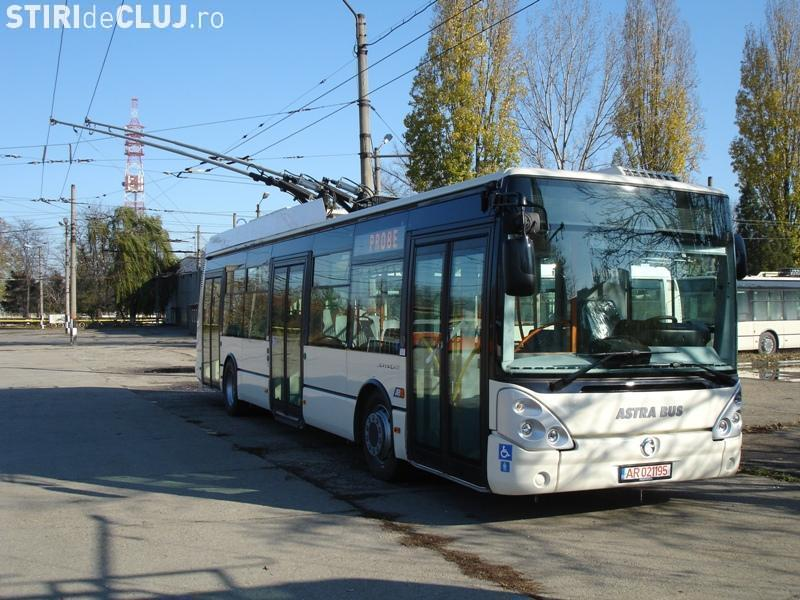 Clujul va cumpăra 20 de troleibuze noi
