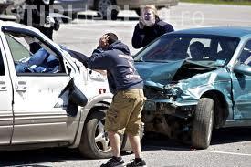 """Accident în lanț în Mănăștur. Șase mașini au fost avariate după ce un șofer a făcut o """"românească"""""""