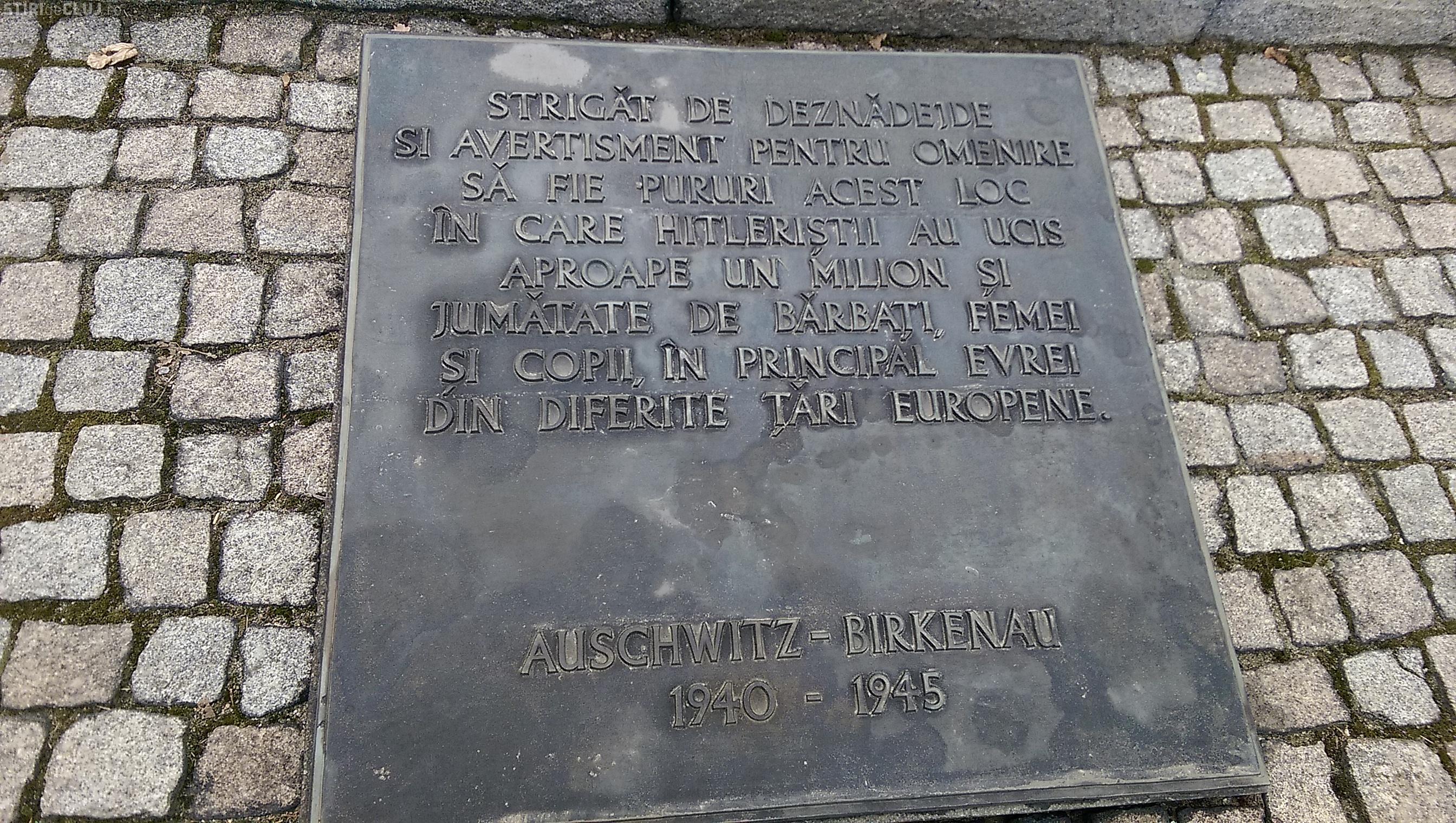 Elevii clujeni au fost în vizită la lagărul de la Auschwitz-Birkenau - FOTO