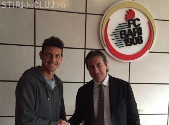 Ionuţ Rada a plecat de la CFR Cluj la o echipă din Italia