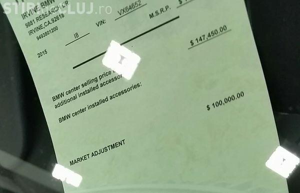 Povestea celui mai scump BMW i8 vândut vreodată. N-a mai avut răbdare și a plătit - FOTO
